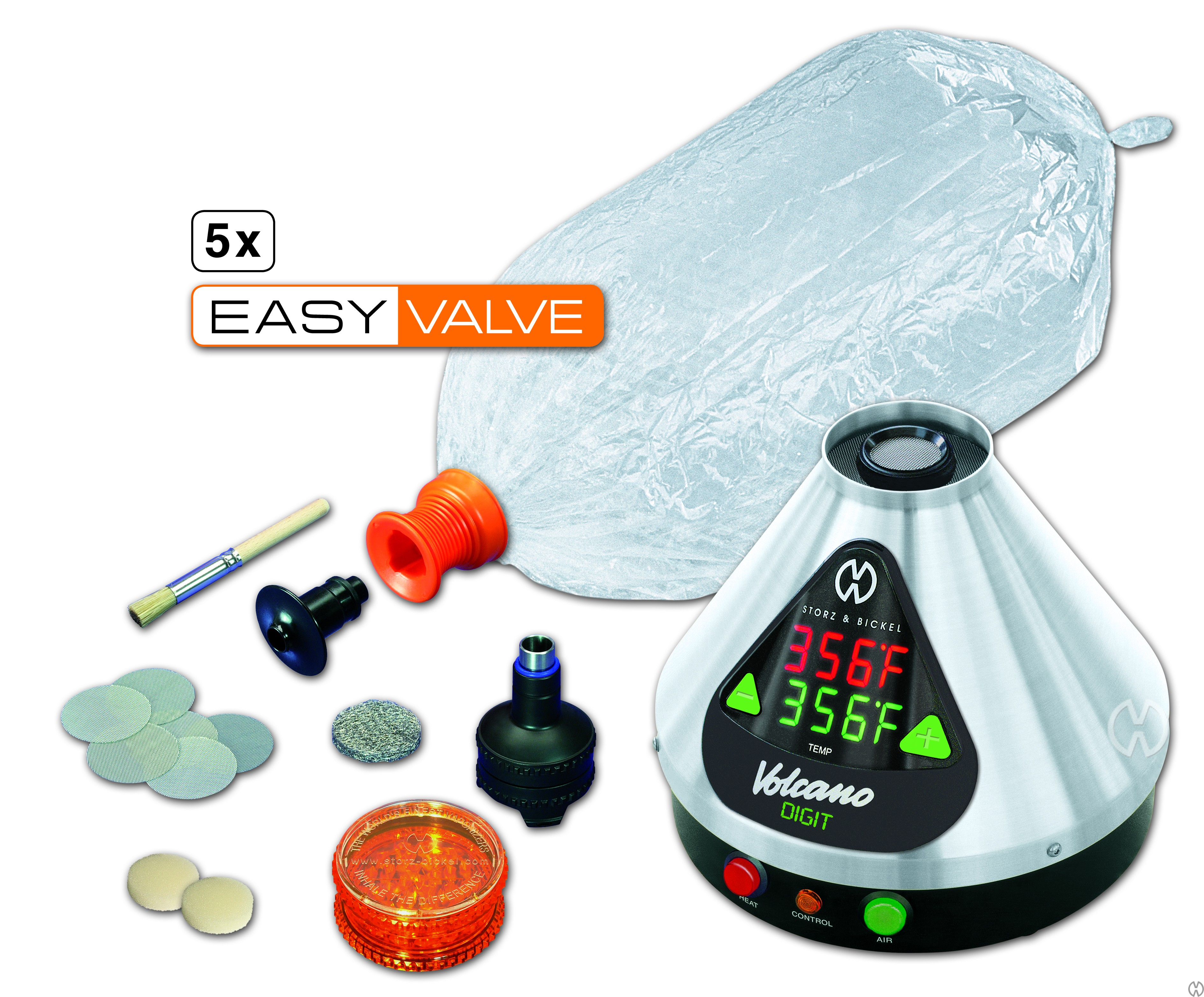 Vaporizer Volcano Digit Easy Valve set