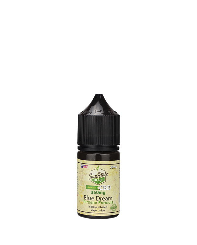 Sunstate Hemp Vape Juice Blue Dream 30ml 600mg CBD