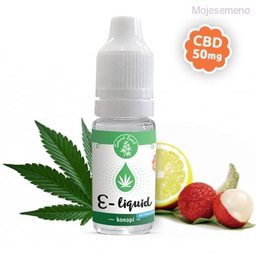 E-liquid s CBD, příchuť Konopí - skywalker, 10ml 50mg