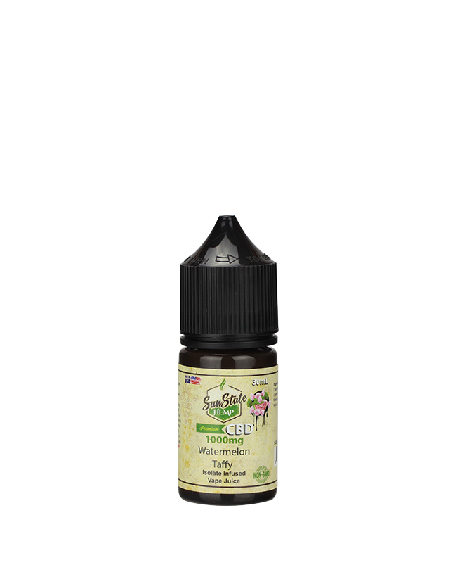 Sunstate Hemp Vape Juice Watermelon Tuffy 30ml 1000mg CBD