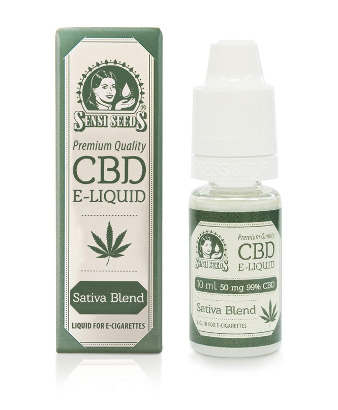 Sensi Seeds CBD E-liquid 50mg 10ml
