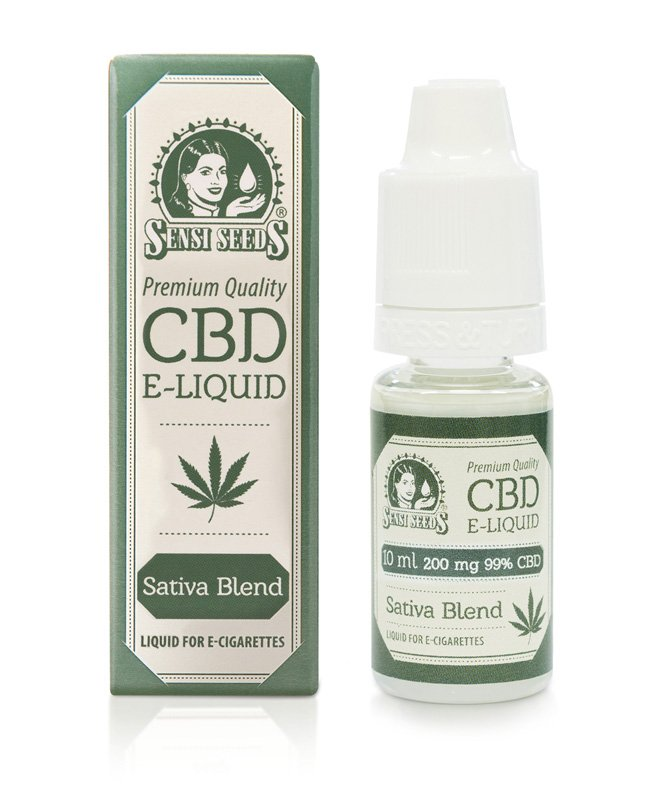 Sensi Seeds CBD E-liquid 200mg 10ml